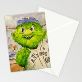 Orbit - Astros mascot Stationery Cards