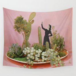 The Wonders of Cactus Island Wall Tapestry