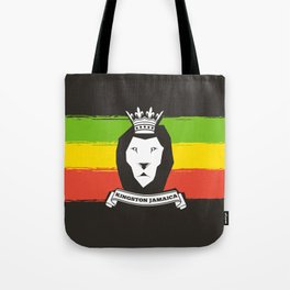 Rasta Lion Tote Bag