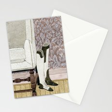 Equestrian Boots Stationery Cards