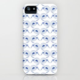 Cornflower blue kiwis iPhone Case