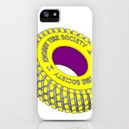 Knobby Tire Society iPhone Case