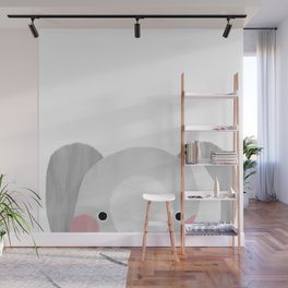 The Elephant Wall Mural