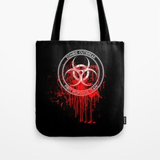 Zombie Outbreak First Response Team Tote Bag