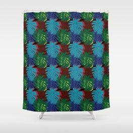 Botanical Leaves Shower Curtain