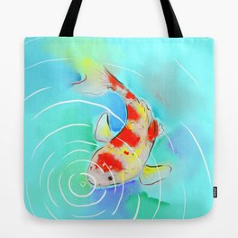 Koi Watercolor 2 Tote Bag