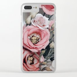 Flowering beauties Clear iPhone Case