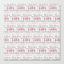 Mother's Day Love Canvas Print