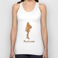 pocahontas Tank Tops featuring Pocahontas by husavendaczek
