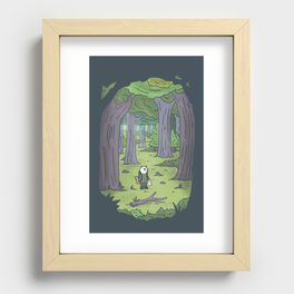 In the Forest Recessed Framed Print