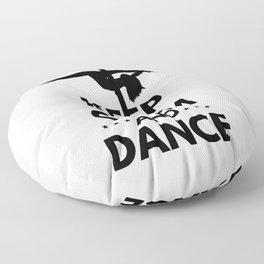 KEEP CALM AND DANCE Floor Pillow