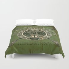 Goa'uld Protection Services Duvet Cover
