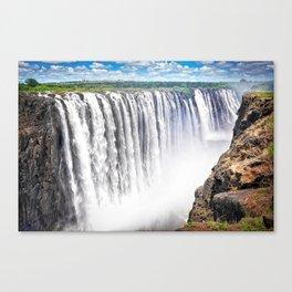 Zimbabwe, Africa - Victoria Falls Canvas Print