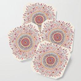 Sunflower Mandala Coaster