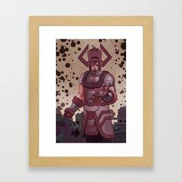 Galactus Framed Art Print