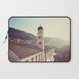 Belltower in Dubrovnik Laptop Sleeve