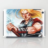 thor iPad Cases featuring Thor by Boisson