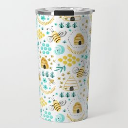 Busy Bees Travel Mug