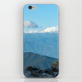 Bhutan: Sunset on Himalaya iPhone Skin