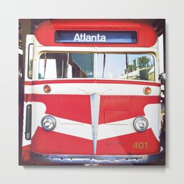 Atlanta Bound Metal Print