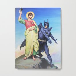 Temptation of Robin Metal Print