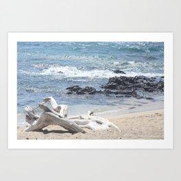 White Beach- Hawaii Art Print
