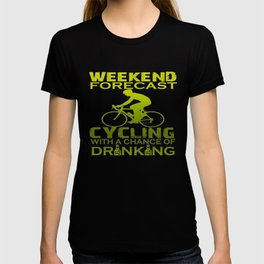 WEEKEND FORECAST CYCLING T-shirt