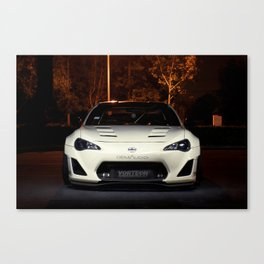 A Demon In The Dark Canvas Print