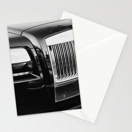 Rolls Grille // Black Luxury Car Close Up Photography Expensive Ultra Wealthy Autos Stationery Cards