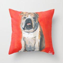 Your Dogs Mug Throw Pillow