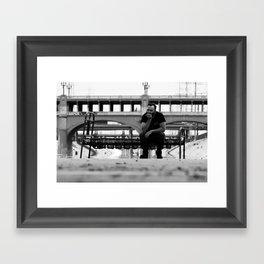 River Bed Framed Art Print