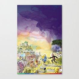 LaLaLand Canvas Print