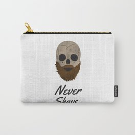 Never Shave. Carry-All Pouch