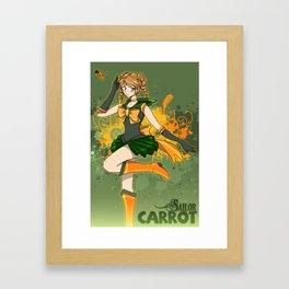 Sailor Carrot Framed Art Print