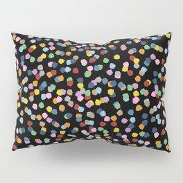 Blossom Petals II Black Pillow Sham