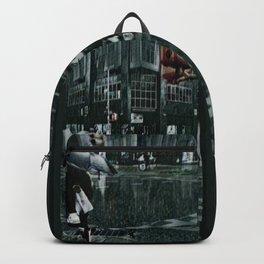 Asterisk/Right Arrow/Rainfall Backpack