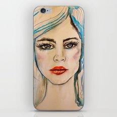 Girl Portrait iPhone & iPod Skin