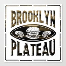 Brooklyn X Plateau - NYC x MTL Canvas Print