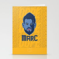 marc jacobs Stationery Cards featuring Marc Gasol by Ric_Hardwood