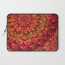 Ruby & Garnet Doodle Laptop Sleeve
