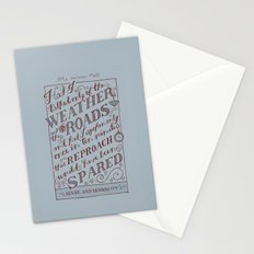Jane Austen Covers: Sense and Sensibility Stationery Cards