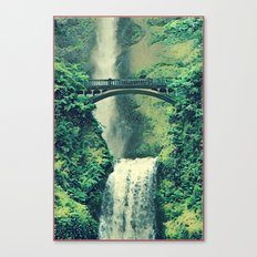 Multnomah Waterfall Canvas Print