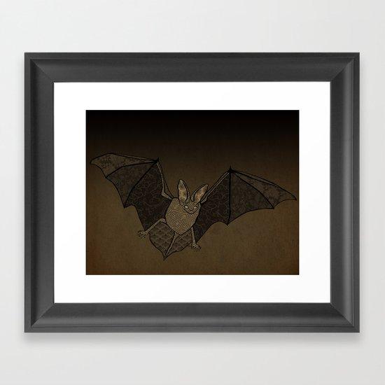 Batty Framed Art Print