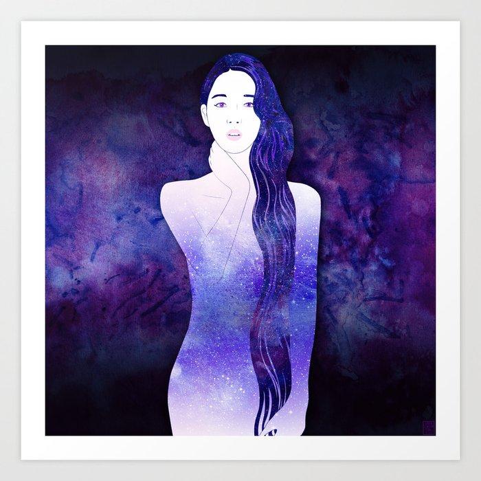 Velvet Echo Art Print