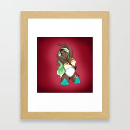 Usagi Warrior Framed Art Print