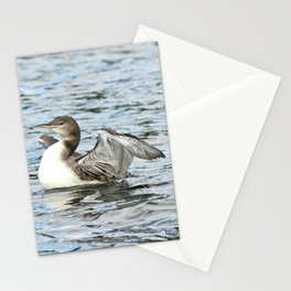 Baby loon all grown up Stationery Cards