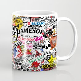 Sticker Bomb Coffee Mug