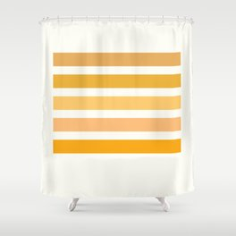 Halloween Colors Art Print Shower Curtain
