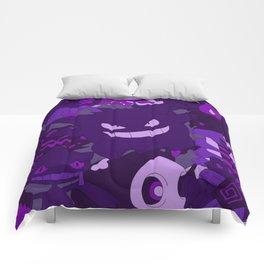 Kawaii Mix Poke Monster v8 Comforters