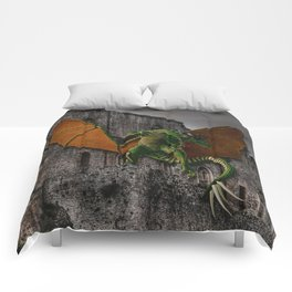 Dragon & Castle Artwork Comforters